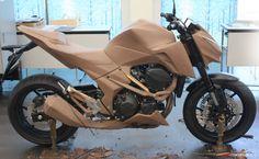 Kawasaki Z800 Design Story