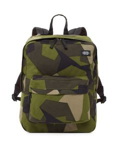Designer Gifts for Him: Jack Spade Men's Gifts Camo Bag, Camo Backpack, Backpack Bags, Camo Fashion, Mens Fashion, Airsoft Girls, Airsoft Sniper, Jack Spade, Orange