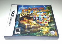 Nintendo DS Dsi Dsl  Complete Game JEWELS OF THE TROPICAL LOST ISLAND
