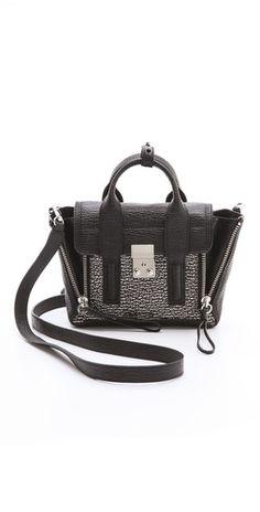 3.1 Phillip Lim Two Tone Mini Pashli Satchel Bleu Marine, Cute Bags, Me Bag 8b93709de5