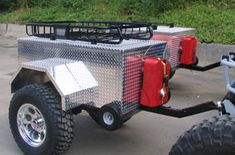 Custom Military Trailer   ... custom rock crawler trailer. See a bigger picture on our trailer page