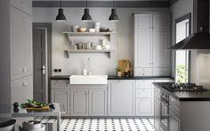 METOD keuken | #IKEA #IKEAnl #traditioneel #grijs #keukensysteem #BODBYN #tool
