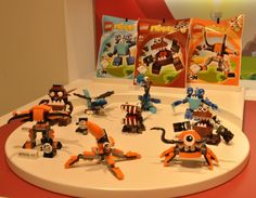 LEGO Mixels Series 2 Sets Orange Blue Brown LEGO 2014