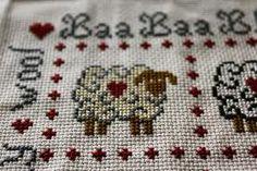 sheep cross stitch - Cerca con Google
