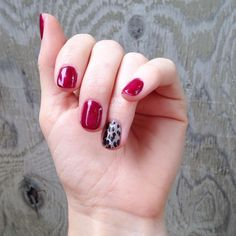 Throwback to my first shot at #trushinejn. I love #blackcherryjn and #gildedleopardjn together! #jamberry