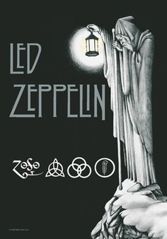 Led Zeppelin Stairway to Heaven Fabric Poster Wall Hanging - Entertainment Earth Tatuaje Led Zeppelin, Led Zeppelin Tattoo, Led Zeppelin Poster, Led Zeppelin Album Covers, Led Zeppelin Logo, Rock Posters, Band Posters, Music Posters, Led Zeppelin Wallpaper