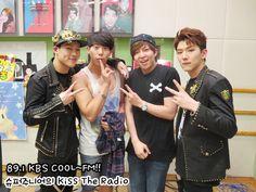 #150610  #P: RADIO  #MONSTA X  #KIHYUN  #JOOHEON