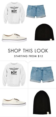 """Sin título #14"" by conniedforeverlover ❤ liked on Polyvore featuring BOY London, Mother, Vans and River Island"