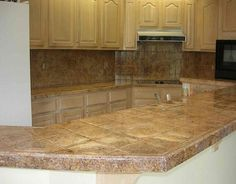 Ceramic Tile Kitchen Countertops Home Posted Pictures Kitchens Comments Best Free Design Idea Inspiration