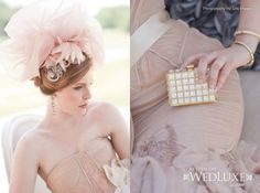 Makeup and Hair by Olivia Ha in WedLuxe 'Pretty in Pink'v2 Photography by LifeImages