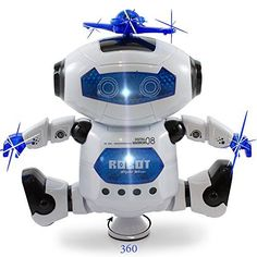 Kidsthrill Dancing Robot -Musical And Colorful Flashing L... https://smile.amazon.com/dp/B018SZ6V9W/ref=cm_sw_r_pi_dp_U_x_2wfEAbDANXYB6