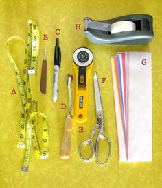 A Guide to Pattern Making Tools - Craftsy