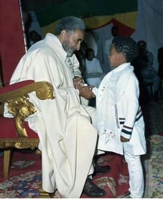 Haile Sellassie I, the last of the Solomonic kings to sit on the throne of king David in Ethiopia. Get to know HIM!
