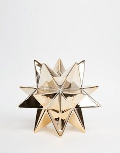 Temerity Jones | Temerity Jones Gold Star Candle Holder