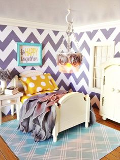 PaperDoll Designs: The Paper DollHouse - Master Bedroom Reveal
