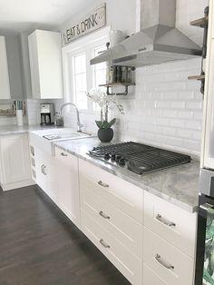 IKEA Kitchen White  GRIMSLOV