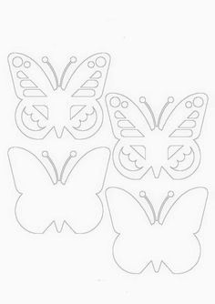 Eric Carle, Easy Drawings, School, Paper Art, Printables, Spring, Manualidades, Butterfly Template, Summer