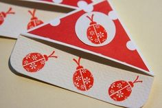 bug corner bookmarks | Ladybug bookmark by Kelli, via Flickr