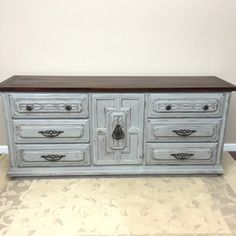 SOLD - Dresser - TV Console - Sideboard Buffet - Entertainment Center by madenewdesignct on Etsy https://www.etsy.com/listing/262814660/sold-dresser-tv-console-sideboard-buffet