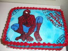 Outstanding Spiderman Cake Decorations with Spiderman Cakes – Decoration Ideas Cake Images, Cake Pictures, Funny Pictures, Strawberry Cake Decorations, Frog Coloring Pages, Spiderman Pictures, Rectangle Cake, Spiderman Theme, Diy Party Supplies