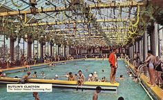 Promotional postcard from butlins in clacton 1 Butlins Holidays, 1960s Britain, Sea Murals, British Holidays, Park Playground, Life Moments, England Uk, Vintage Postcards, Childhood Memories