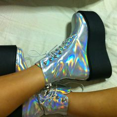 holographic pumps ...now go forth and share that BOW & DIAMOND style ppl! Lol. ;-) xx