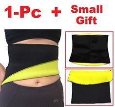 c3ea46d16a ibuylinks Hot Neoprene Slimming Waist Body Shaper Training Xtreme Shaper  Belt For Weight Loss Burns Fat Unisex For Men and Women Free Gift RFID  blocking ...