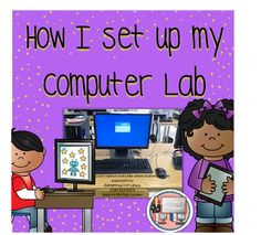 How I set up my computer lab blog post. Learn what I do to make sure I have a safe and engaging learning environment. FREE bonus content at the end.