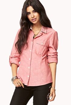Essential Button Down | FOREVER 21 - 2058211763