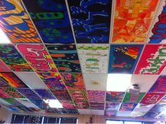 Great 12 X 12 Ceiling Tiles Thin 2X4 Acoustical Ceiling Tiles Round 2X4 White Ceramic Subway Tile 6 X 12 White Subway Tile Youthful 6X6 Tile Backsplash RedAccoustical Ceiling Tiles Tutorial: Cover Ugly Ceiling Tiles With FABRIC!   Ceiling Tiles ..