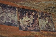 Bhag Bagh Caves -   Paintings