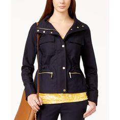 MICHAEL Michael Kors Hooded Mini Anorak Jacket | Michael Kors ...