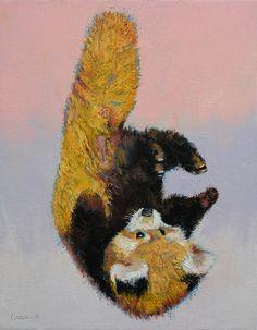 Red Panda Cub Art Print by Michael Creese | Society6