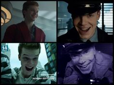I can't believe how good Cam's joker laugh is !!! Cameron Monaghan on Gotham.