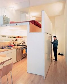 loft-built-in-new york-small spaces