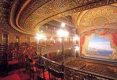 Teatro Juarez in Guanajuato, Mexico.  http://www.tourbymexico.com/guana/guana/guana.htm