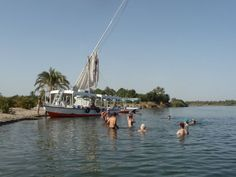 Swim in the Nile as a part of your Felucca Ride