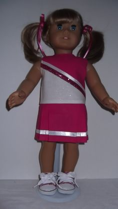 cheer leader out fits how to make dolls out fits