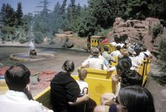 A train travels through paint pots and geysers. tami@goseemickey.com