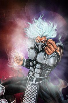 Smoke of Mortal Kombat.. I'll smoke you to death!! by Grapiqkad on deviantART