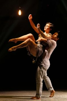 Melanie Moore and Marco Germar