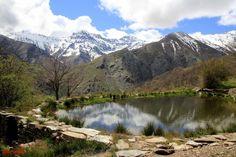 Esta es la charca del Hornillo. ¡Es una de las vistas más emblemáticas y fotografiadas de la Sierra!