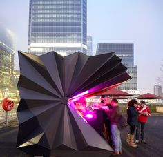 Kiosk in London, Make Architects