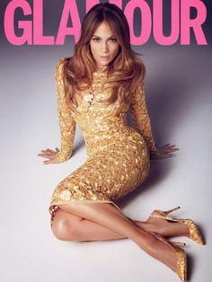 Jennifer Lopez for Glamour UK, March 2014
