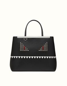 FENDI REGULAR 2JOURS #FENDI #Handbag Length: 35 cm Height: 28 cm Depth: 16 cm Composition: 100% Calfskin Leather