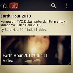 "Have you seen the #EarthHour 2013 Official Video yet? This year's soundtrack is ""Without You"" by @DavidGuetta and #Usher. Head to www.ehour.me/2013ViD to check it out! Image by @rkarlts"
