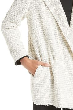 Image of Theory Clairene Woven Jacket