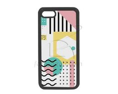 Cover in Silicone iPhone 7 Abstract colors