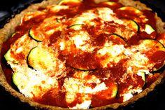 Lasagna Tart New York Desserts, Tart Pan, Savoury Recipes, Doughnuts, Lasagna, Ice Cream, Vegan, Baking, Ethnic Recipes