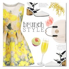 """Mother's Day Brunch Goals"" by fshionme ❤ liked on Polyvore featuring Birchrose + Co. and brunchgoals"